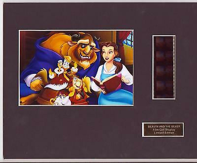 Beauty And The Beast Film Cell Display Limited Edition