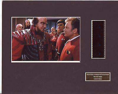Star Trek Undiscovered Country Film Cell Display Limited Edition Very Rare