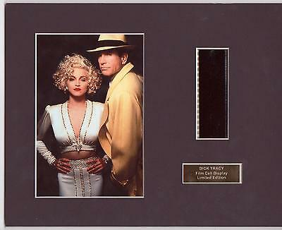 Dick Tracy Film Cell Display Limited Edition