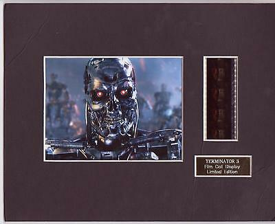 Terminator 3 Film Cell Display Limited Edition Rare