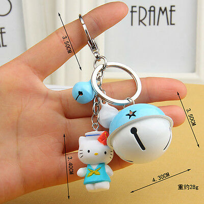 NEW Hello kitty Key chain The bell key chain Toy Gift 12