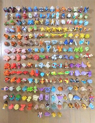 Pokemon Kids Finger Puppet Figures Lot of 214 Clear Shiny Bandai Rare Toy