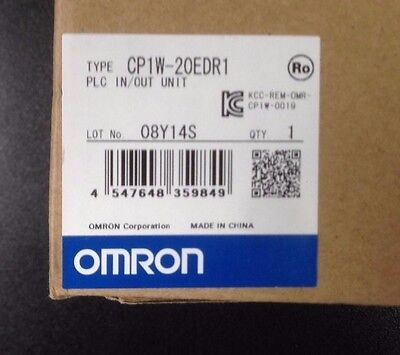 Omron CP1W-20EDR1 PLC In/Out Unit