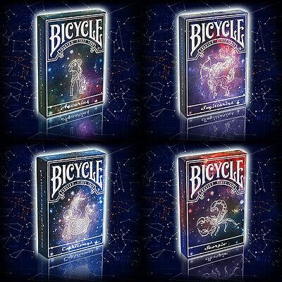 Bicycle Playing Cards - Constellations (4 Deck Set) NEW