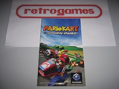 Mario Kart Double Dash Instruction Manual Only Nintendo Gamecube