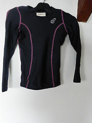 tee shirt manche longue  BSC bodyscience taille 8 S/XS