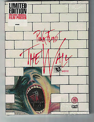 DVD UK  PINK FLOYD THE WALL  The Movie inc Film poster New sealed disc