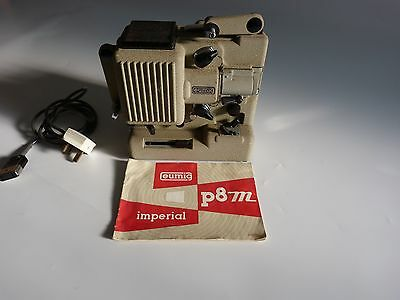 Eumig P8 Projector, Imperial Model Come With Lead And Instructions. Untested