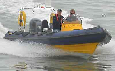 Ribcraft 6.8m RIB - MCA Cat 3R coded with Yamaha F150 AET outboard engine
