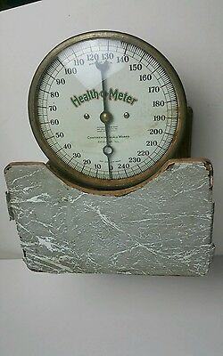 ANTIQUE CONTINENTAL SCALE WORKS 1917-1921 HEALTH O METER Working