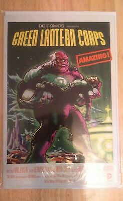 Green Lantern Corps #40 Comic, Movie Poster Variant (DC Comics)