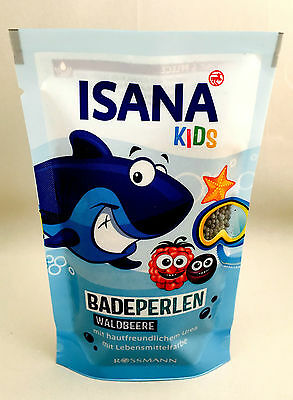Isana Kids Badeperlen Waldbeere 80g (100g/3,74€) Seife