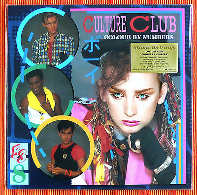 CULTURE CLUB - COLOUR BY NUMBERS  Ltd. 180g Green Coloured Vinyl  LP  SEALED