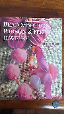 Bead and button, ribbon and felt jewellery book my Schneebeli-Morrell sewing box