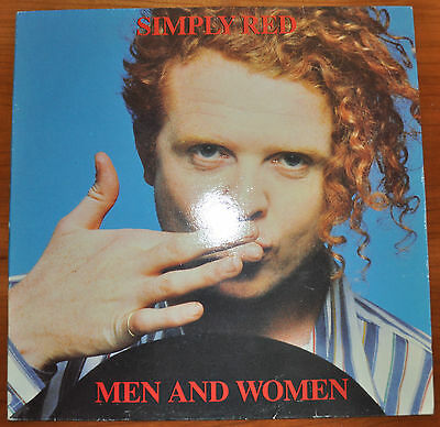 """Lp Simply Red """"men And Women"""""""