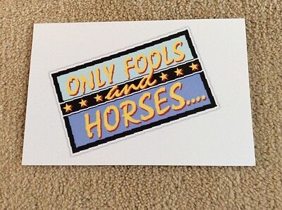 Logo Of Only Fools And Horses Photo Card