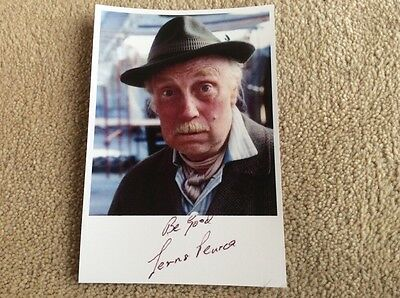 Lennard Pearce As Grandad Only Fools And Horses Pre Print Signed Card
