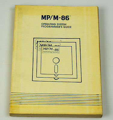 Software - Mp/m-86 Operating System Programmer's Guide