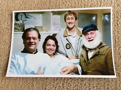 Cast Of Only Fools And Horses Photo Card