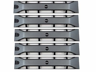 Lot of 5 Dell PowerEdge R710 R715 R810 R815 Front Cover Face Plate Bezel