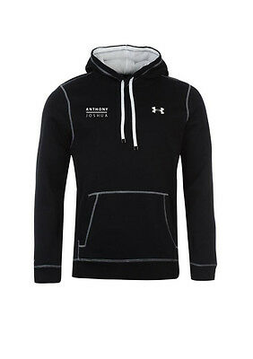 Anthony Joshua Authentic Pullover Black Under Armour Hoody in X-LARGE  *SPECIAL*
