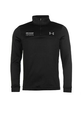 Anthony Joshua Authentic Under Armour Icon Quarter Zip Top in SMALL