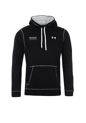 Anthony Joshua Authentic Pullover Black Under Armour Hoody in LARGE  *SPECIAL*