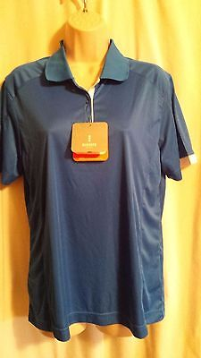 Nwt Elevate Sport Women's Short Sleeve Polo Athletic Golf Shirt Size L
