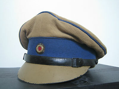 Rare German Schutztruppe Sand Coloured Officers Cap Pre 1900 To Ww1