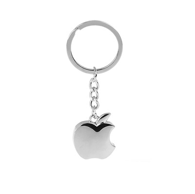 Metal Keychain with Apple logo