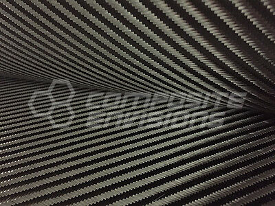 "Carbon Fiber Cloth Fabric 4x4 Twill 50"" 3k 8.3oz"