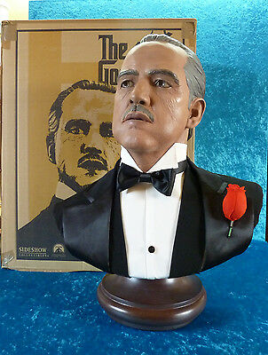 Sideshow The Godfather Don Vito Corleone Life Size Bust / der Pate Marlon Brando