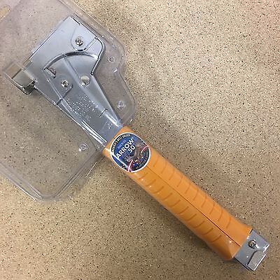 Arrow HT50P Hammer Tacker With Power Grip Handle Staple Sizes: 8, 10 & 12mm New