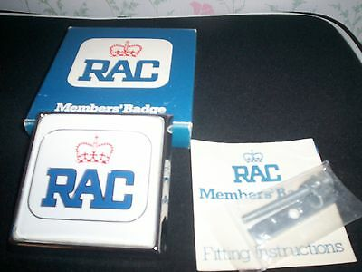 Vintage RAC Car Grille Members Club Badge