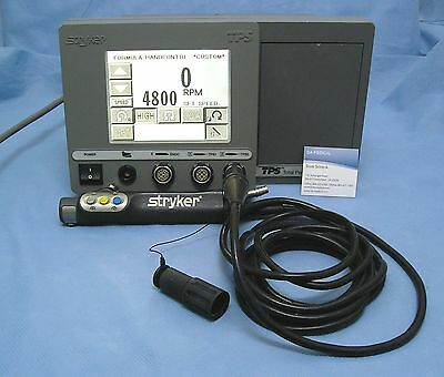 Stryker Arthroscopy Shaver System, TPS console with Formula Shaver