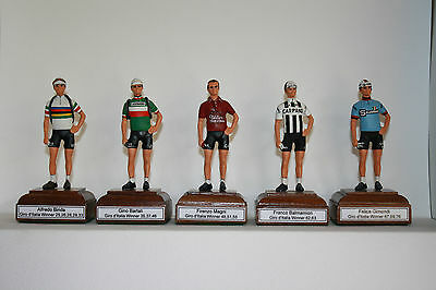 Any Giro d'Italia Winner Rider hand made Cycling figurine Pantani Coppi Magni