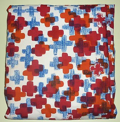 Vintage Retro 1960s Heals Fabric Material Curtains Crusilly Ruth Kaye V&A