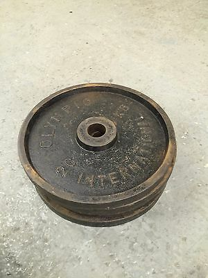 4 X 20Kg Old Fashion Steel Olympic Weights Olympic International Weight Plates