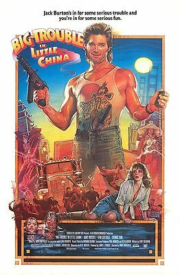 Big Trouble In Little China original poster