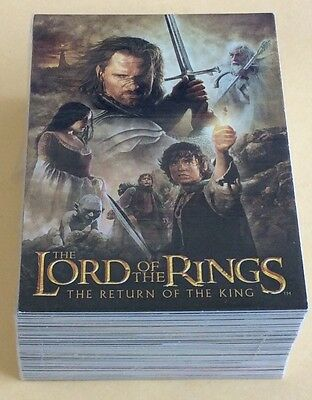 2004 Topps The Lord Of The Rings Return Of The King Update Trading Card Set
