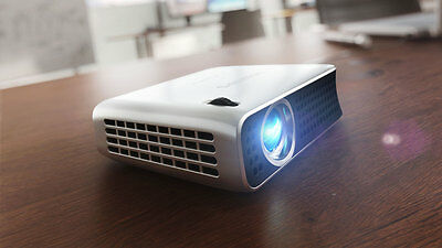 Philips Pico PPX4010 Portable LED Pocket Projector 100 Lumens with HDMI Port