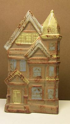 Vintage Gempo  Wall Pocket Victorian Home 1960's Japan Stoneware