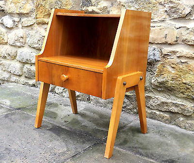 MID CENTURY 1950's 60's 70's VINTAGE MODERNIST CONTINENTAL MINI SIDE CABINET