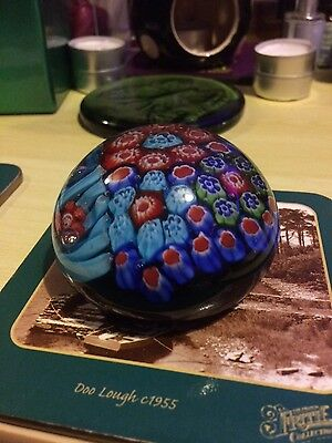 Crystal Glass Ball Sphere Paperweight Deco Art-S136