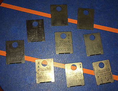 Eubanks 20 AWG .052 OD 00156 Wire Stripping Blade Set 2600 blades Cut gauge lot