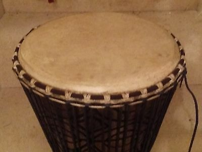 """Superb pro 12"""" (12 Inch) Djembe African Drum from Guinea - Shipped from UK"""