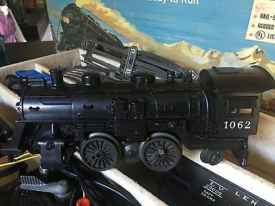 1966 Lionel Train 19500 Steam Freight Electric Train Set Complete In Box