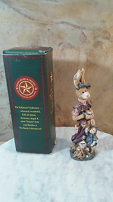 "Boyds Bears And Friends The Folkstone Collection ""Rabbit"" # 2846 The Tea Party"