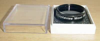 """Zhumell 1.25"""" - Crystalview MOON Telescope Eyepiece Filter  - NEW"""