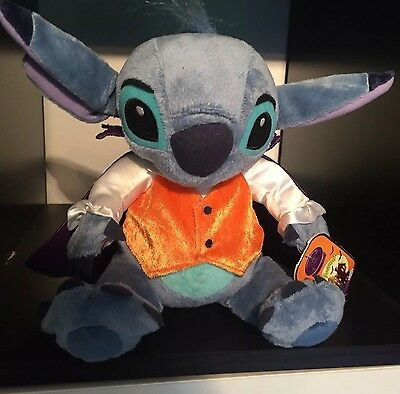 Disneystore Exclusive Haloween Stitch Lilo Soft Toy Plush large with tags